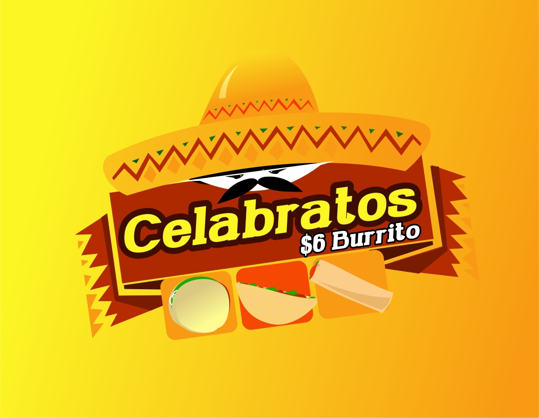 Logo Design by Private User - Entry No. 49 in the Logo Design Contest Imaginative Logo Design for Celabratos.