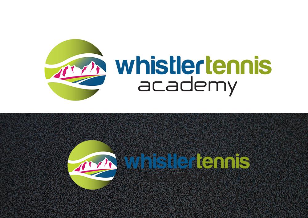 Logo Design by demang - Entry No. 255 in the Logo Design Contest Imaginative Logo Design for Whistler Tennis Academy.