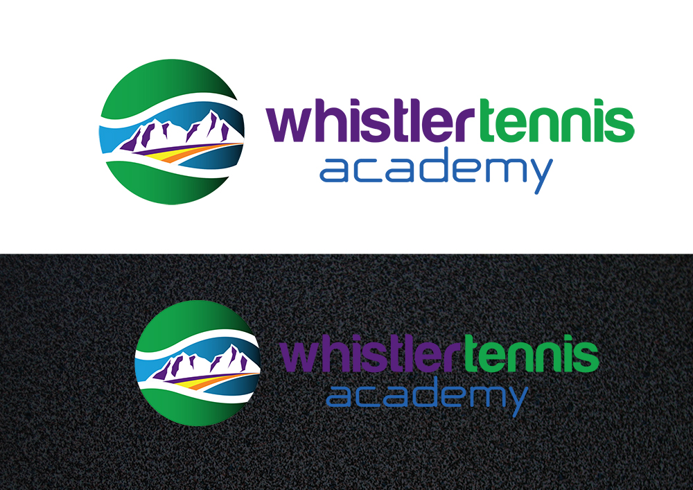 Logo Design by demang - Entry No. 256 in the Logo Design Contest Imaginative Logo Design for Whistler Tennis Academy.