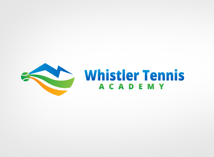 Logo Design by Jan Chua - Entry No. 259 in the Logo Design Contest Imaginative Logo Design for Whistler Tennis Academy.