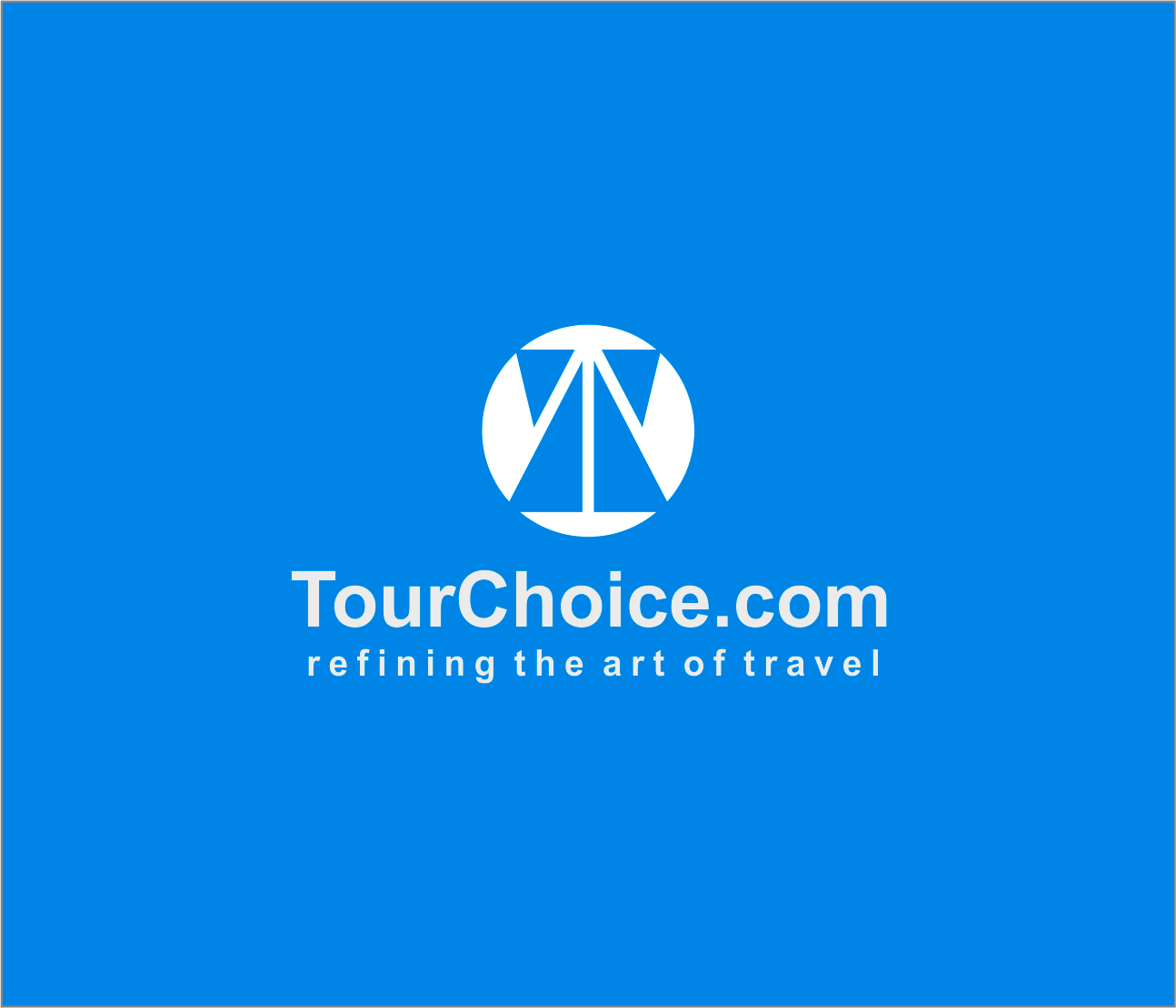 Logo Design by Armada Jamaluddin - Entry No. 54 in the Logo Design Contest www.TourChoice.com Logo Design.