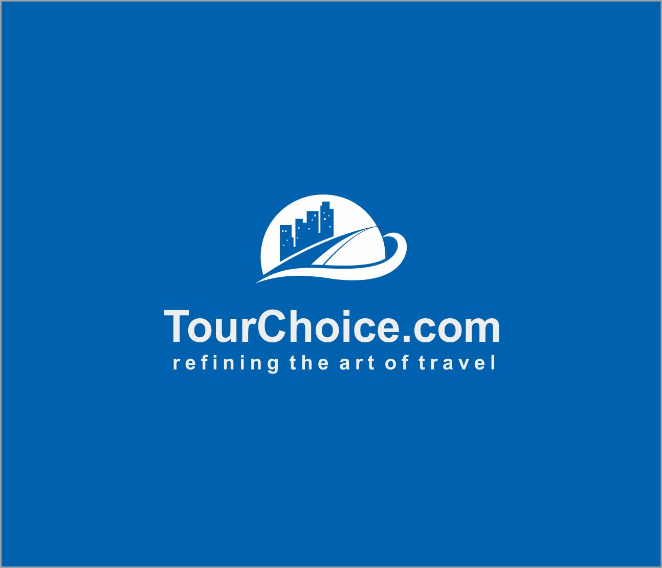 Logo Design by Armada Jamaluddin - Entry No. 55 in the Logo Design Contest www.TourChoice.com Logo Design.