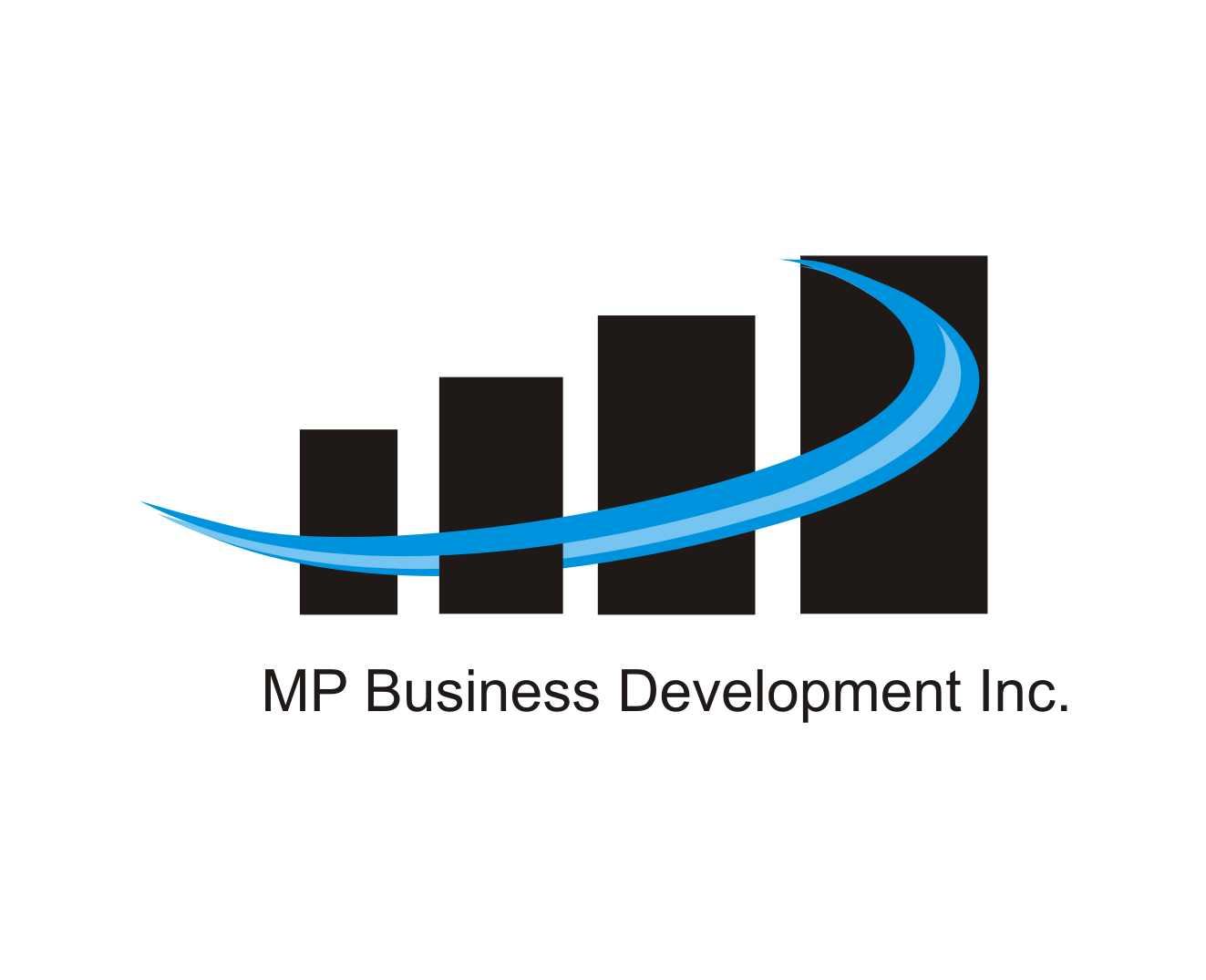 Logo Design by Nthus Nthis - Entry No. 45 in the Logo Design Contest MP Business Development Inc. Logo Design.