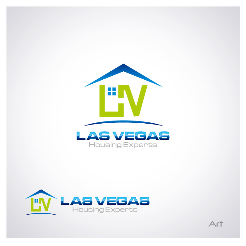 Logo Design by Puspita Wahyuni - Entry No. 89 in the Logo Design Contest Las Vegas Housing Experts Logo Design.