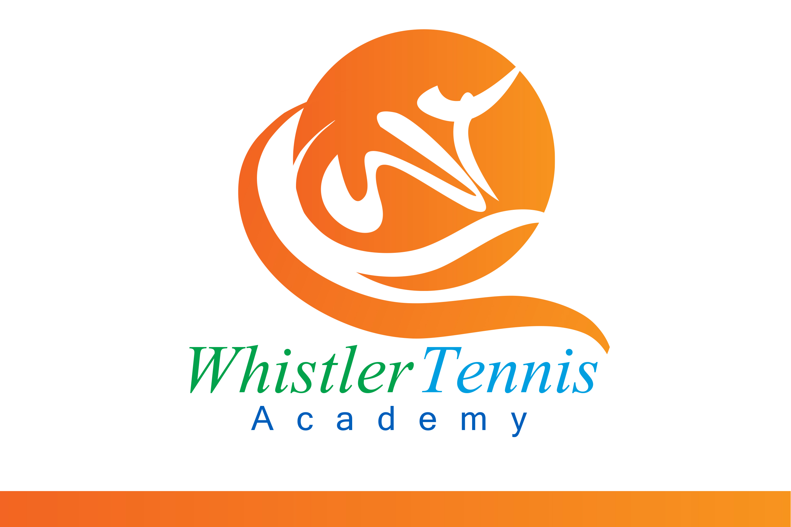 Logo Design by Leonard Anthony Alloso - Entry No. 260 in the Logo Design Contest Imaginative Logo Design for Whistler Tennis Academy.