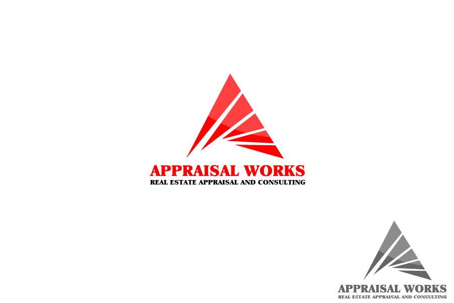 Logo Design by Private User - Entry No. 231 in the Logo Design Contest Appraisal Works Logo Design.