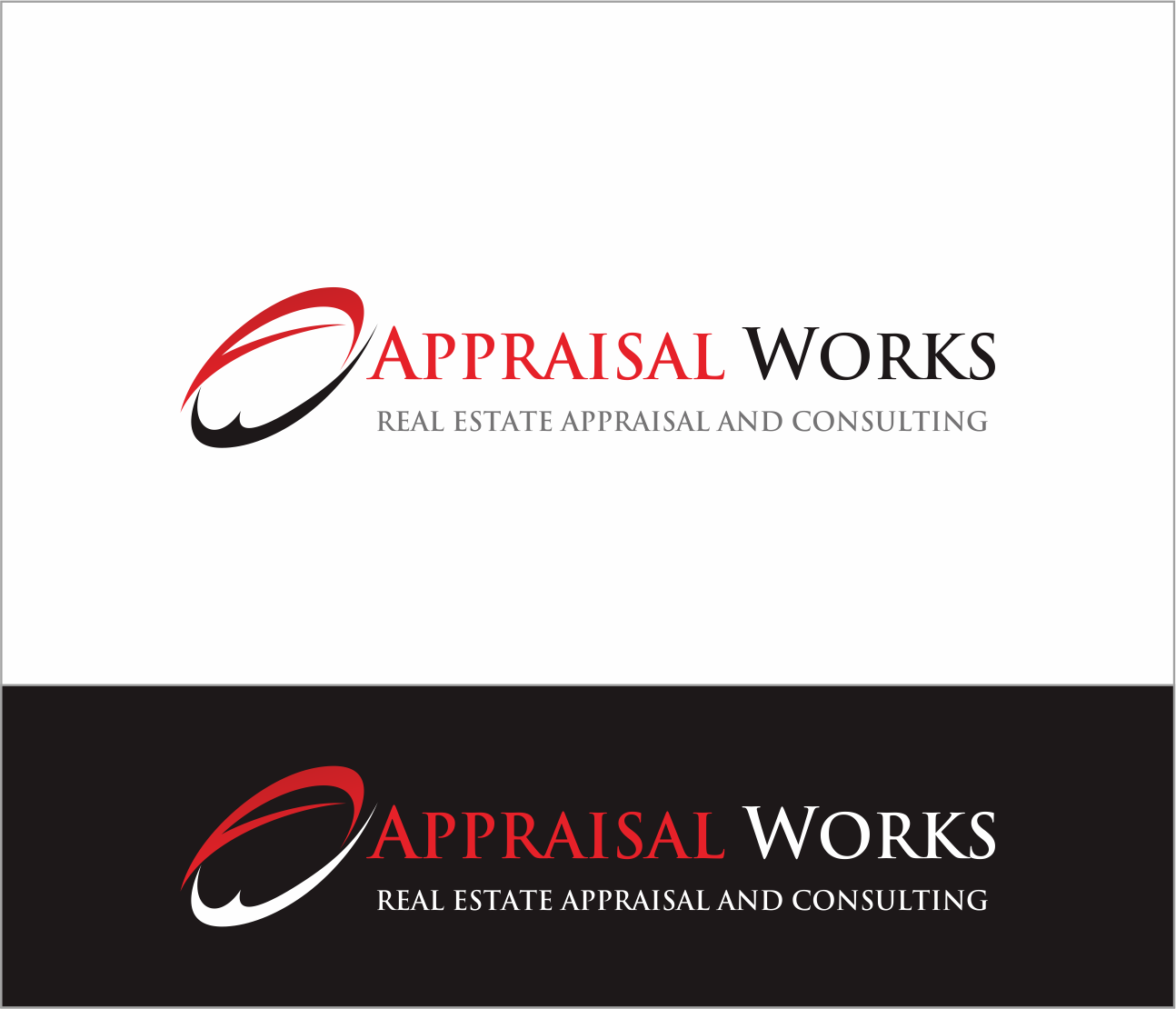 Logo Design by Armada Jamaluddin - Entry No. 239 in the Logo Design Contest Appraisal Works Logo Design.