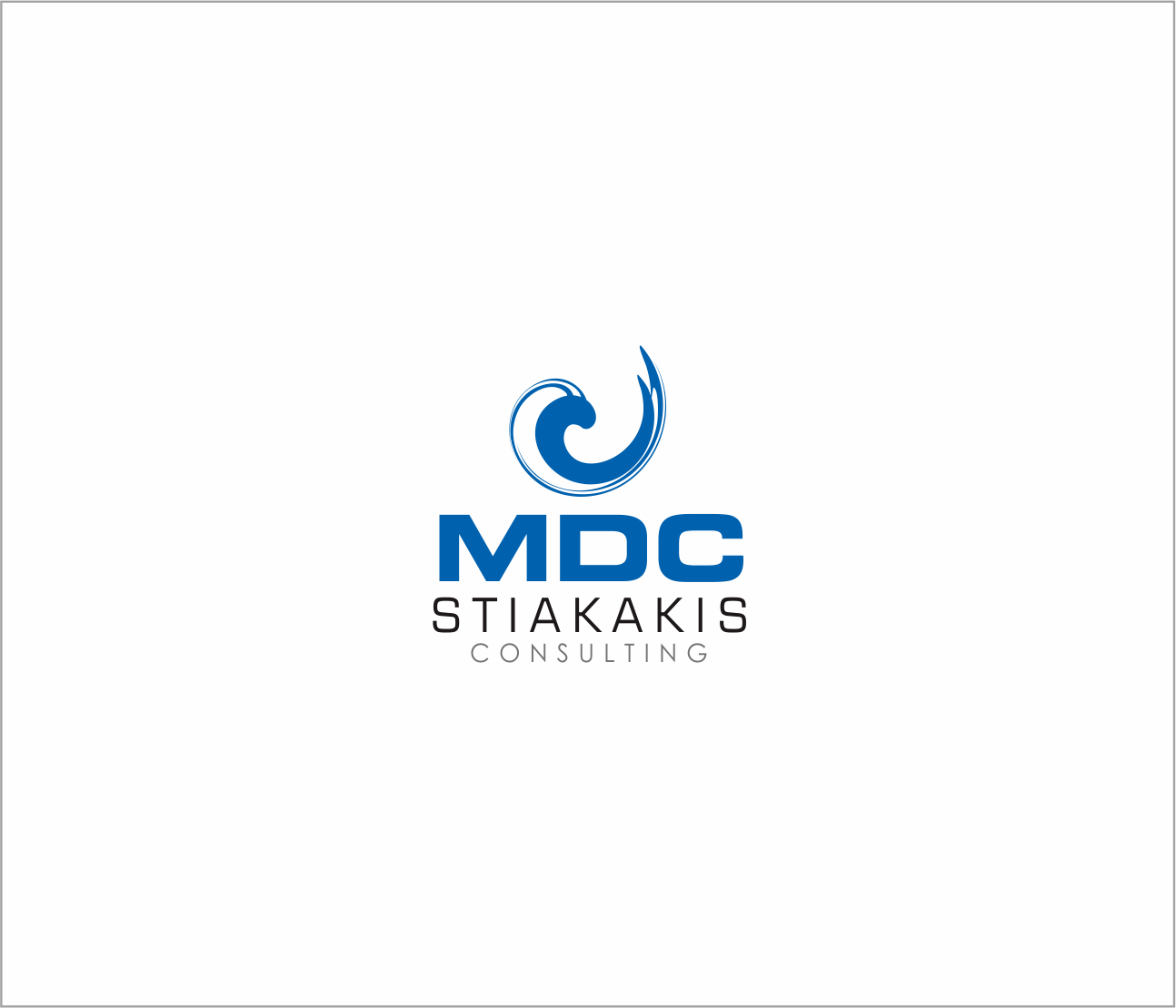Logo Design by Armada Jamaluddin - Entry No. 56 in the Logo Design Contest Unique Logo Design Wanted for MDC STIAKAKIS.