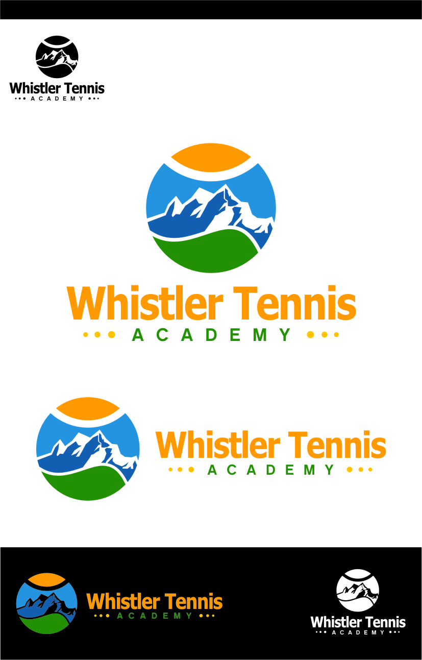 Logo Design by RoSyid Rono-Rene On Java - Entry No. 273 in the Logo Design Contest Imaginative Logo Design for Whistler Tennis Academy.