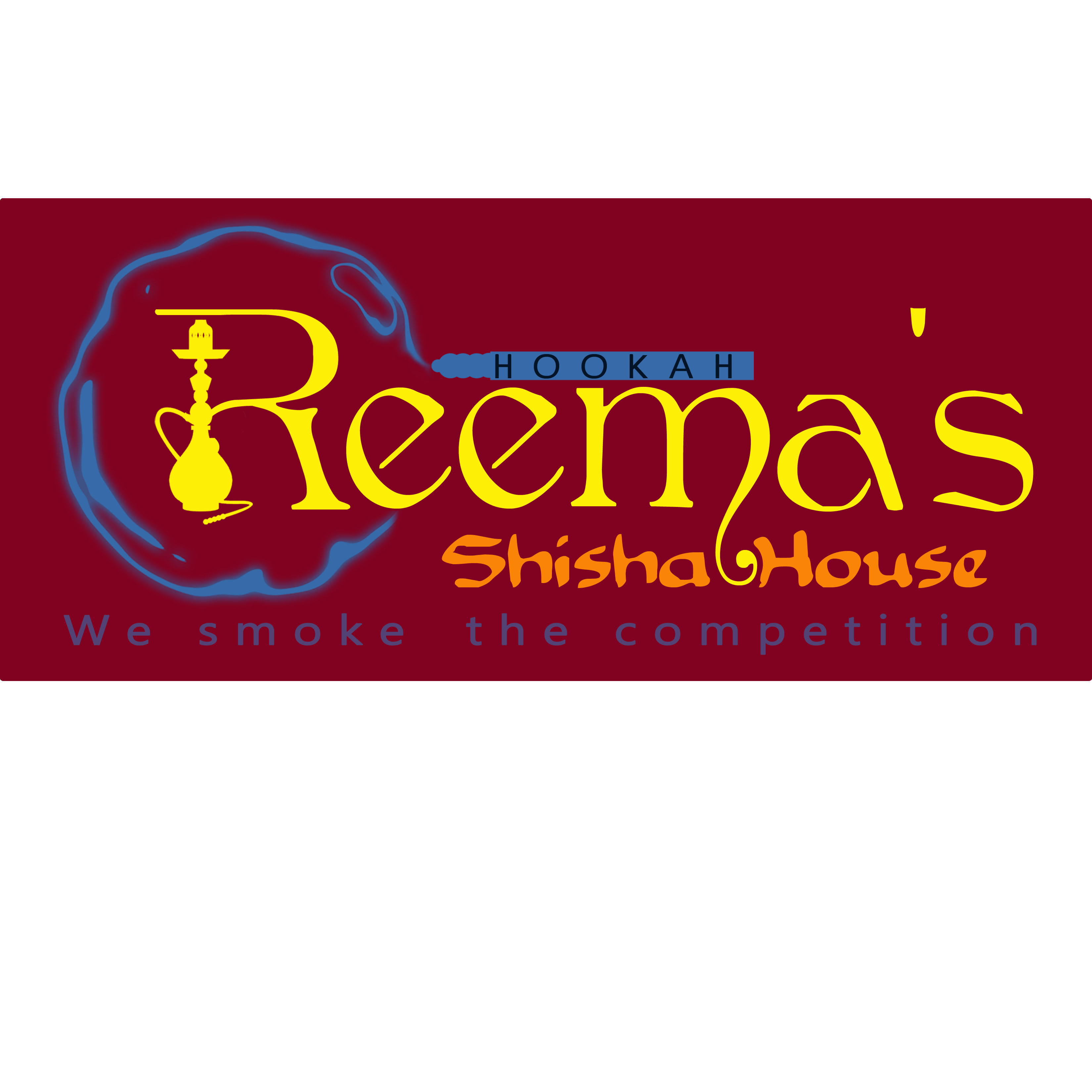 Logo Design by Allan Esclamado - Entry No. 33 in the Logo Design Contest Captivating Logo Design for Reema's Shisha House.