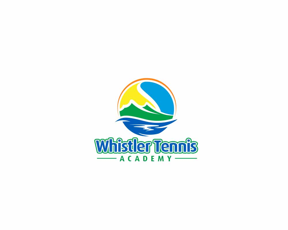 Logo Design by Private User - Entry No. 274 in the Logo Design Contest Imaginative Logo Design for Whistler Tennis Academy.