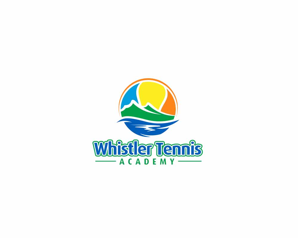 Logo Design by Private User - Entry No. 275 in the Logo Design Contest Imaginative Logo Design for Whistler Tennis Academy.