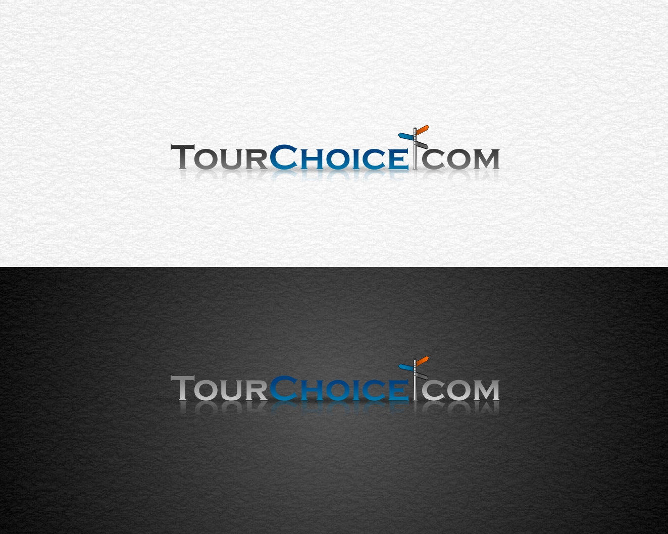 Logo Design by Rares.Andrei - Entry No. 58 in the Logo Design Contest www.TourChoice.com Logo Design.
