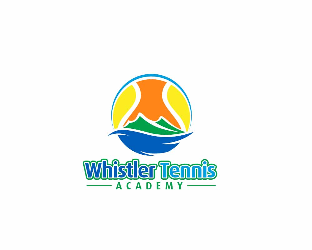 Logo Design by Private User - Entry No. 276 in the Logo Design Contest Imaginative Logo Design for Whistler Tennis Academy.