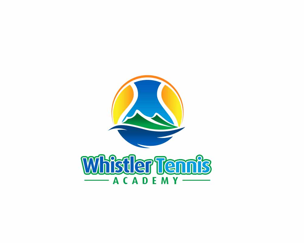Logo Design by Private User - Entry No. 277 in the Logo Design Contest Imaginative Logo Design for Whistler Tennis Academy.