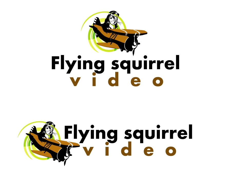 Logo Design by Private User - Entry No. 24 in the Logo Design Contest Artistic Logo Design for Flying squirrel video.