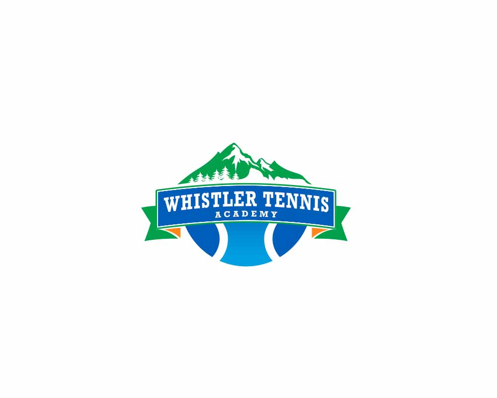 Logo Design by Private User - Entry No. 278 in the Logo Design Contest Imaginative Logo Design for Whistler Tennis Academy.