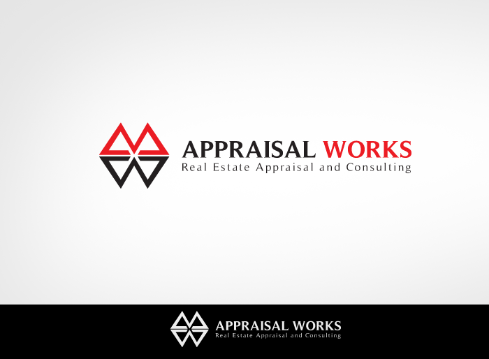 Logo Design by Jan Chua - Entry No. 252 in the Logo Design Contest Appraisal Works Logo Design.