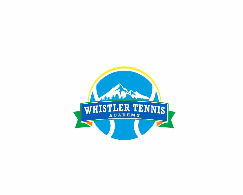 Logo Design by Private User - Entry No. 279 in the Logo Design Contest Imaginative Logo Design for Whistler Tennis Academy.