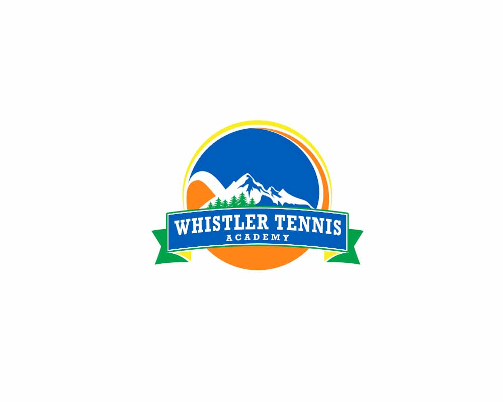 Logo Design by Private User - Entry No. 280 in the Logo Design Contest Imaginative Logo Design for Whistler Tennis Academy.