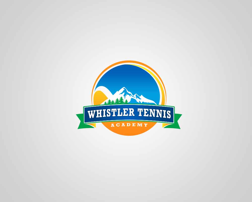 Logo Design by Private User - Entry No. 281 in the Logo Design Contest Imaginative Logo Design for Whistler Tennis Academy.