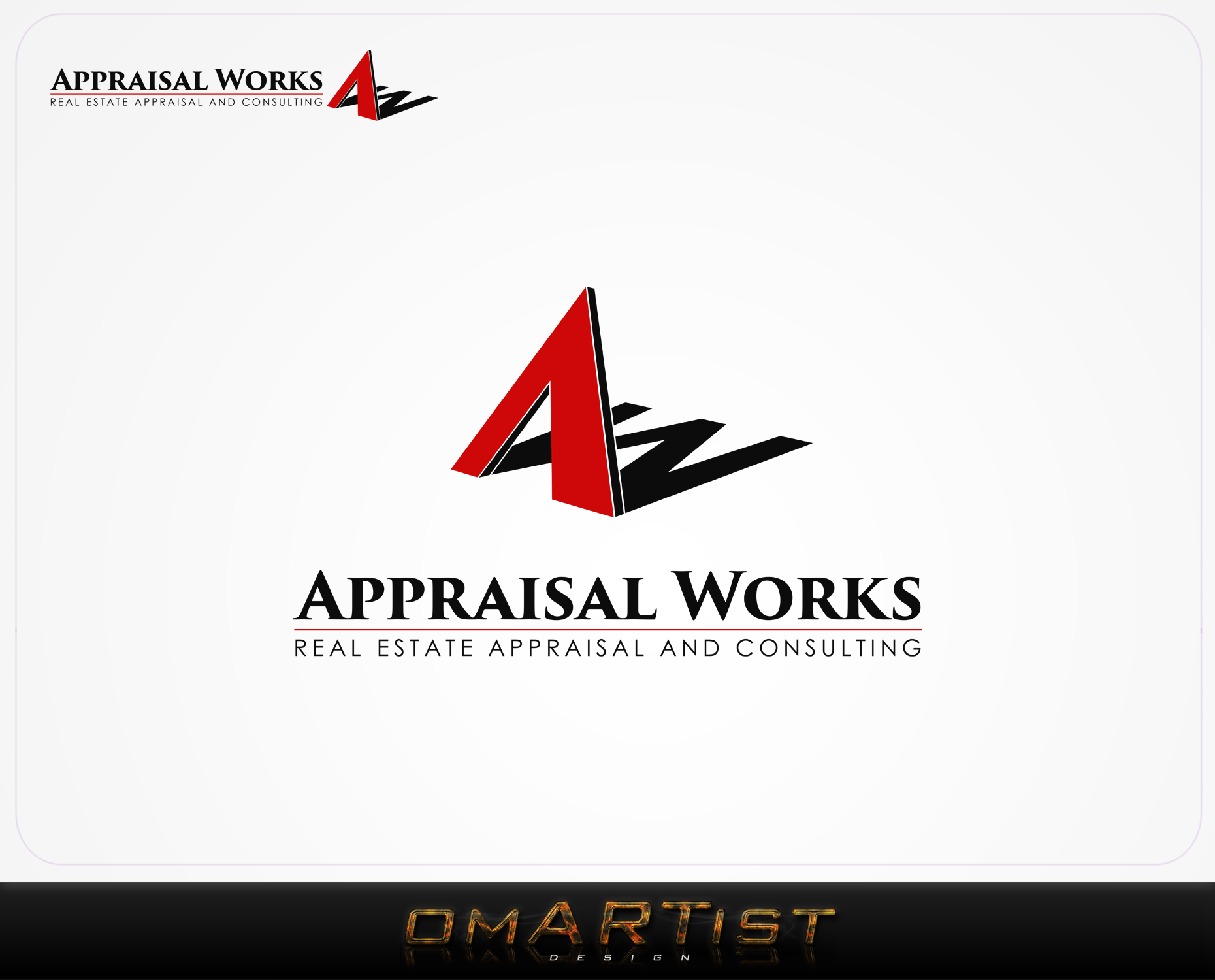 Logo Design by omARTist - Entry No. 271 in the Logo Design Contest Appraisal Works Logo Design.