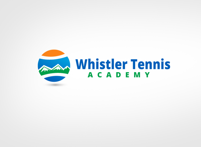 Logo Design by Jan Chua - Entry No. 282 in the Logo Design Contest Imaginative Logo Design for Whistler Tennis Academy.