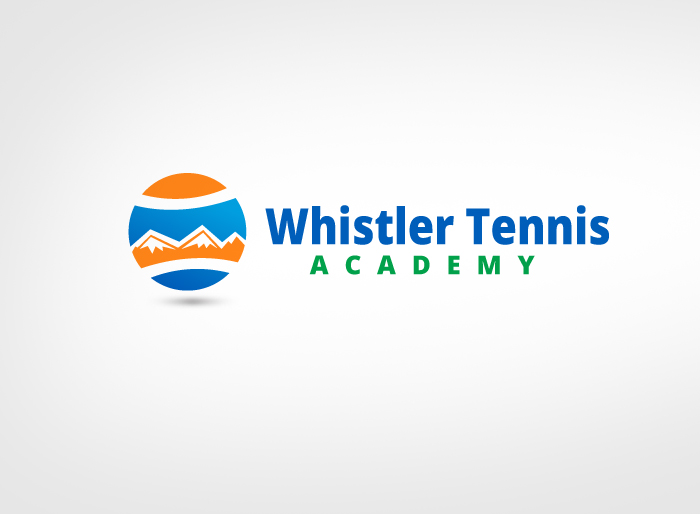 Logo Design by Jan Chua - Entry No. 283 in the Logo Design Contest Imaginative Logo Design for Whistler Tennis Academy.