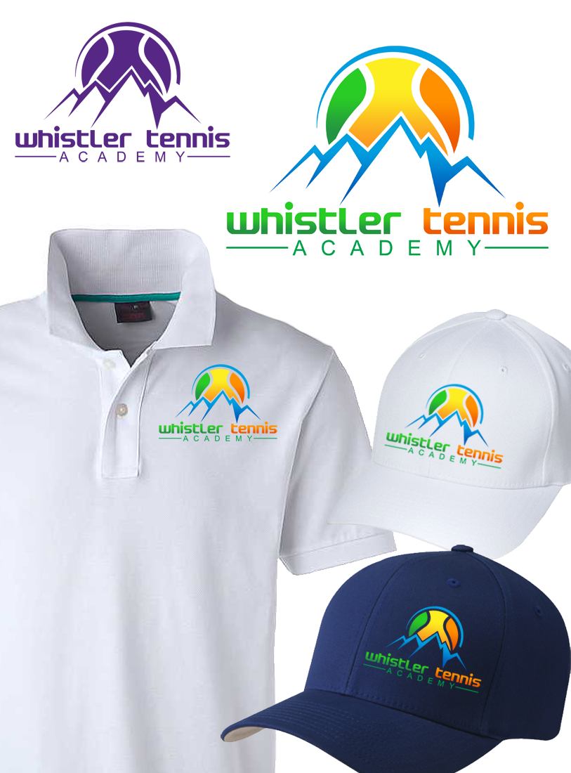 Logo Design by Private User - Entry No. 285 in the Logo Design Contest Imaginative Logo Design for Whistler Tennis Academy.