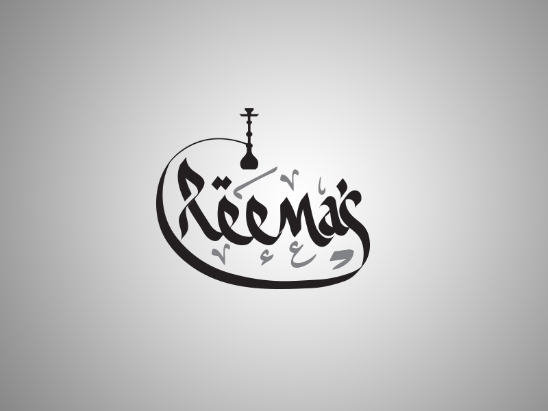 Logo Design by Mohamed Abdulrub - Entry No. 36 in the Logo Design Contest Captivating Logo Design for Reema's Shisha House.