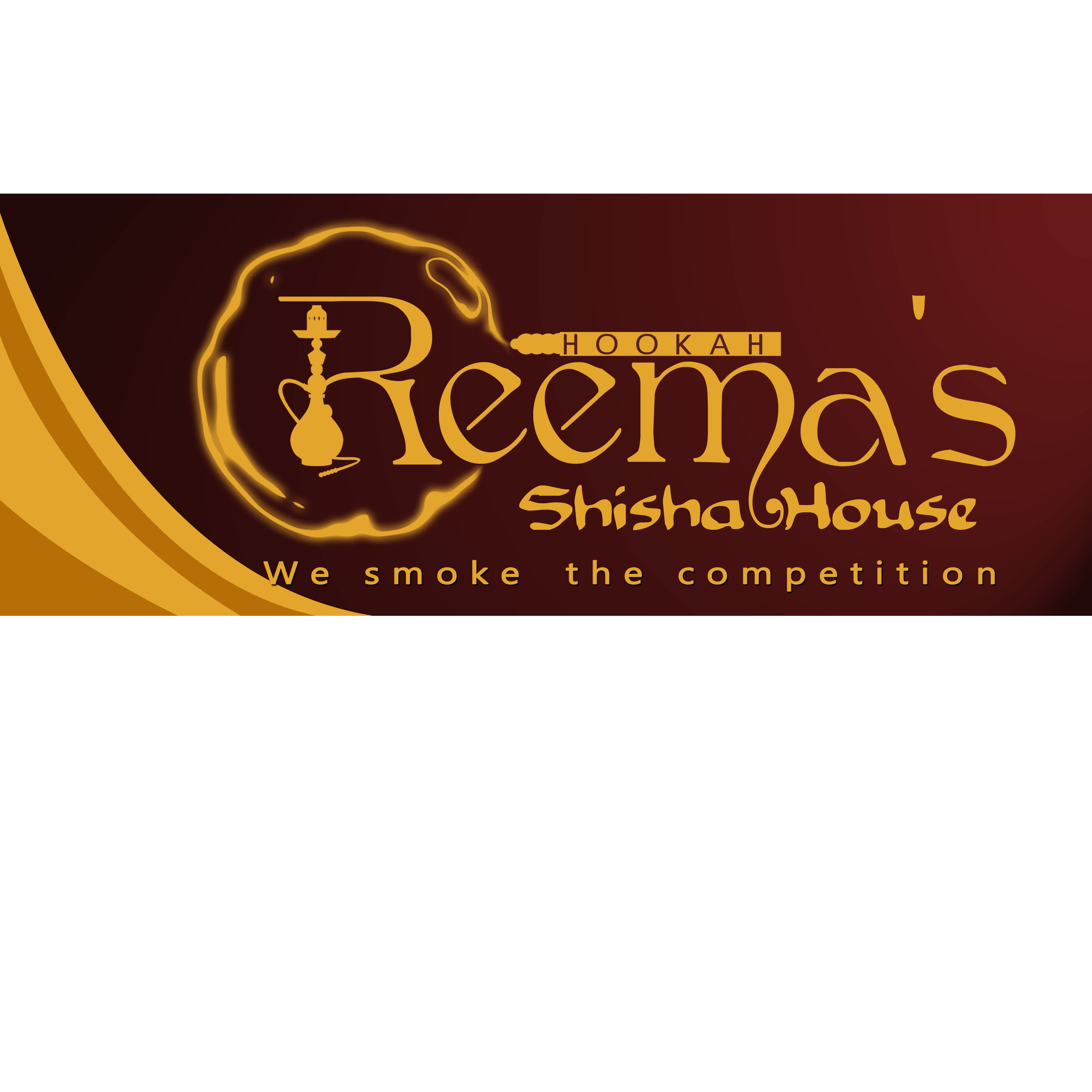 Logo Design by Allan Esclamado - Entry No. 39 in the Logo Design Contest Captivating Logo Design for Reema's Shisha House.