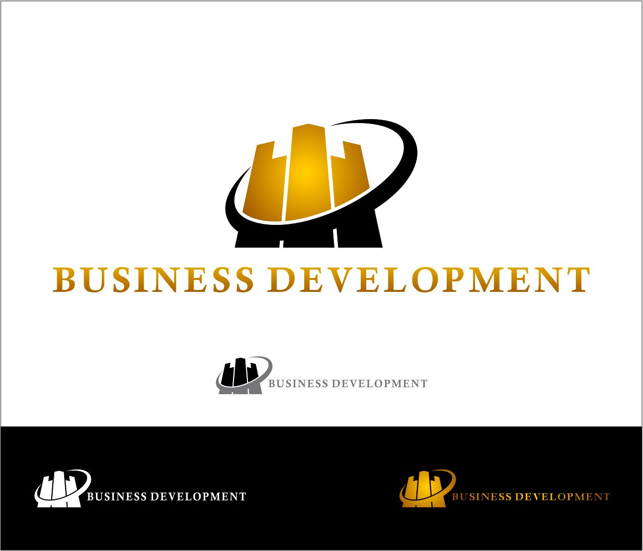 Logo Design by Armada Jamaluddin - Entry No. 82 in the Logo Design Contest MP Business Development Inc. Logo Design.
