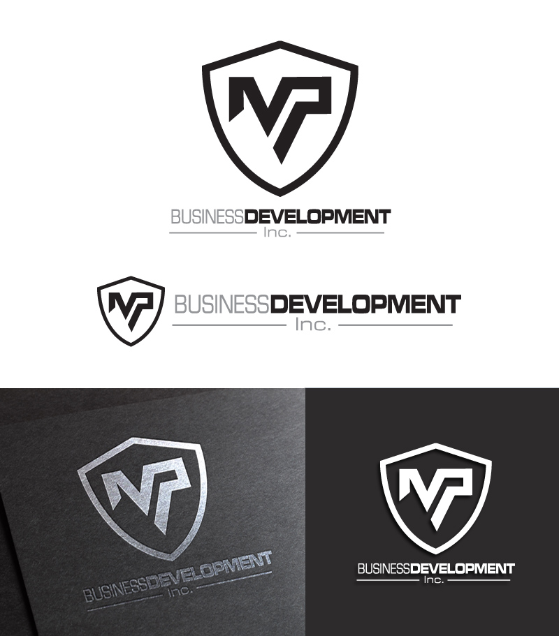 Logo Design by Puspita Wahyuni - Entry No. 84 in the Logo Design Contest MP Business Development Inc. Logo Design.