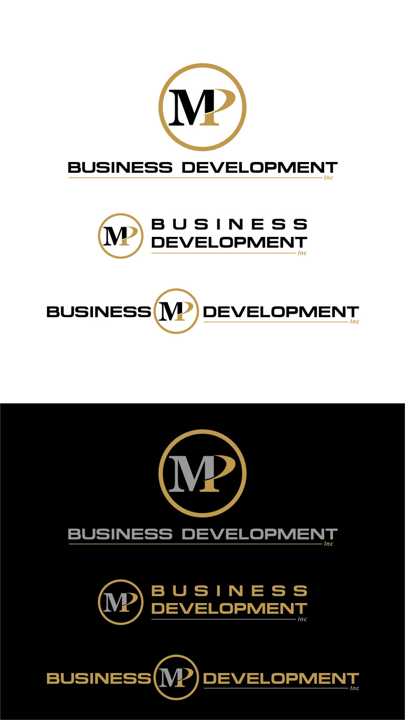 Logo Design by Ngepet_art - Entry No. 85 in the Logo Design Contest MP Business Development Inc. Logo Design.