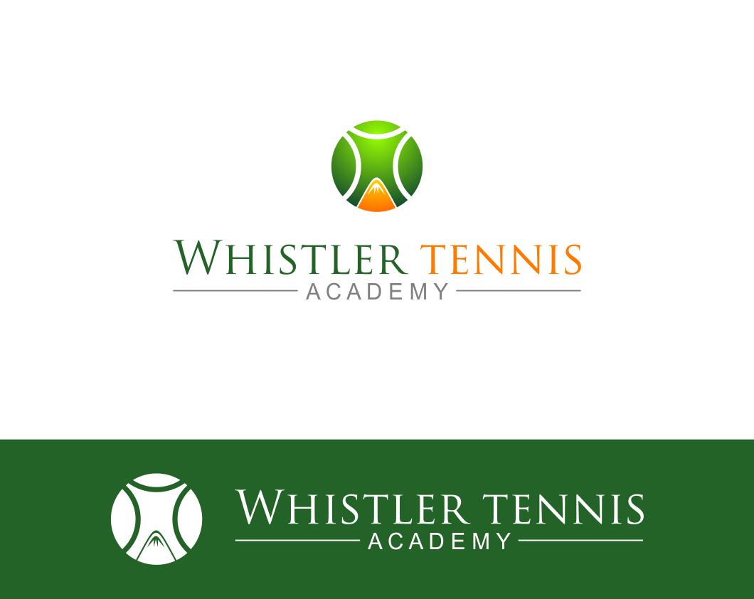 Logo Design by Agus Martoyo - Entry No. 291 in the Logo Design Contest Imaginative Logo Design for Whistler Tennis Academy.