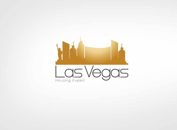 Logo Design by Jan Chua - Entry No. 109 in the Logo Design Contest Las Vegas Housing Experts Logo Design.