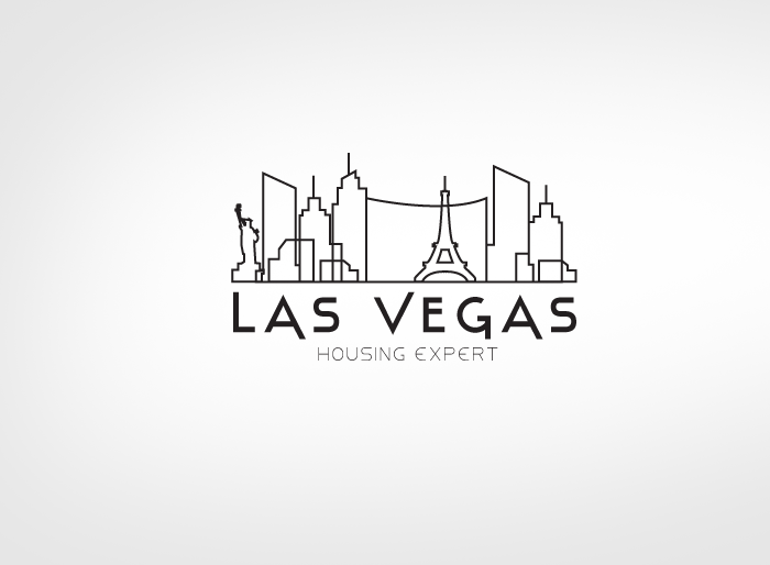 Logo Design by Jan Chua - Entry No. 111 in the Logo Design Contest Las Vegas Housing Experts Logo Design.