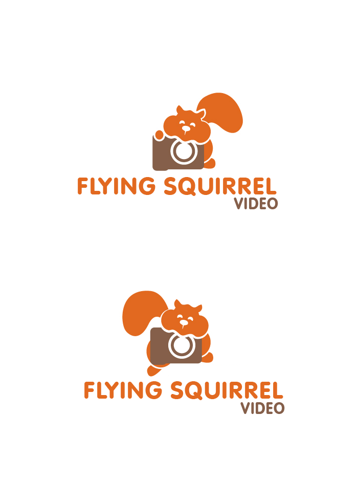 Logo Design by brands_in - Entry No. 29 in the Logo Design Contest Artistic Logo Design for Flying squirrel video.