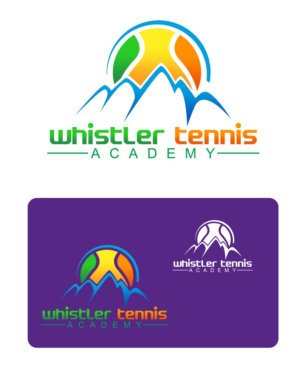 Logo Design by Private User - Entry No. 293 in the Logo Design Contest Imaginative Logo Design for Whistler Tennis Academy.