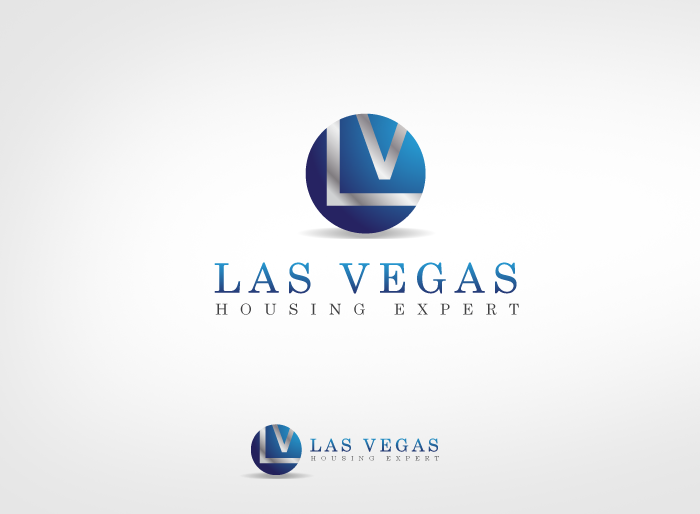 Logo Design by Jan Chua - Entry No. 115 in the Logo Design Contest Las Vegas Housing Experts Logo Design.