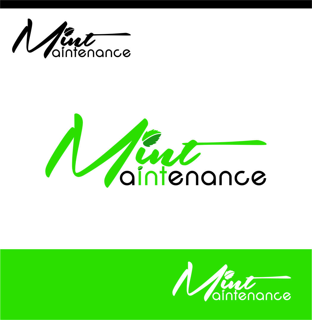 Logo Design by RoSyid Rono-Rene On Java - Entry No. 2 in the Logo Design Contest Creative Logo Design for Mint Maintenance.