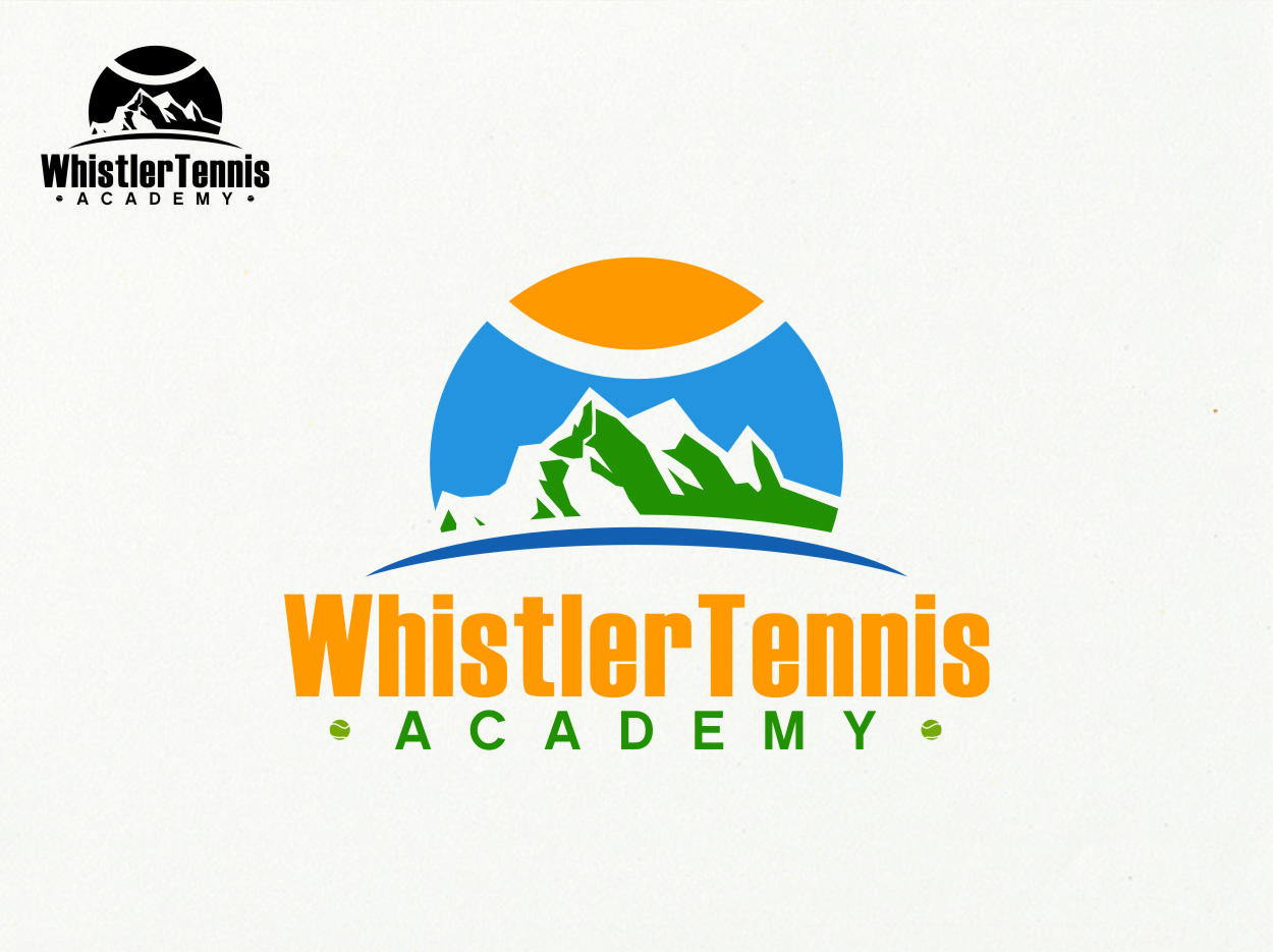 Logo Design by Ngepet_art - Entry No. 294 in the Logo Design Contest Imaginative Logo Design for Whistler Tennis Academy.