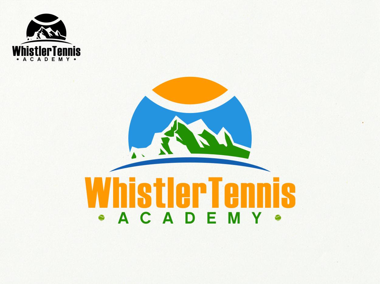 Logo Design by RasYa Muhammad Athaya - Entry No. 294 in the Logo Design Contest Imaginative Logo Design for Whistler Tennis Academy.