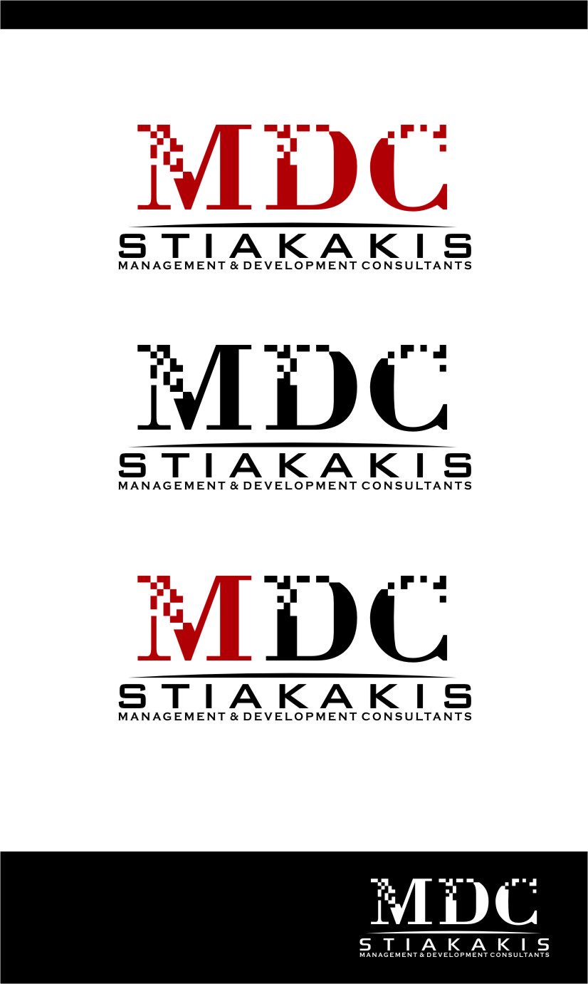 Logo Design by Ngepet_art - Entry No. 66 in the Logo Design Contest Unique Logo Design Wanted for MDC STIAKAKIS.