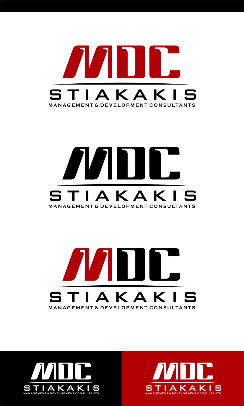 Logo Design by Ngepet_art - Entry No. 67 in the Logo Design Contest Unique Logo Design Wanted for MDC STIAKAKIS.