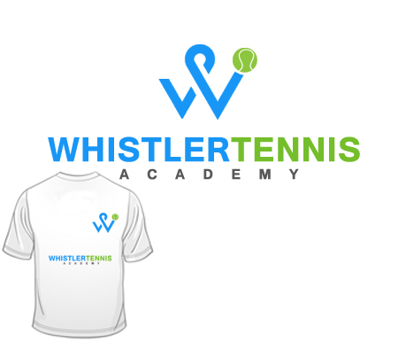 Logo Design by Crystal Desizns - Entry No. 300 in the Logo Design Contest Imaginative Logo Design for Whistler Tennis Academy.