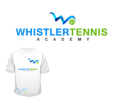 Logo Design by Crystal Desizns - Entry No. 303 in the Logo Design Contest Imaginative Logo Design for Whistler Tennis Academy.