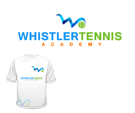 Logo Design by Crystal Desizns - Entry No. 305 in the Logo Design Contest Imaginative Logo Design for Whistler Tennis Academy.