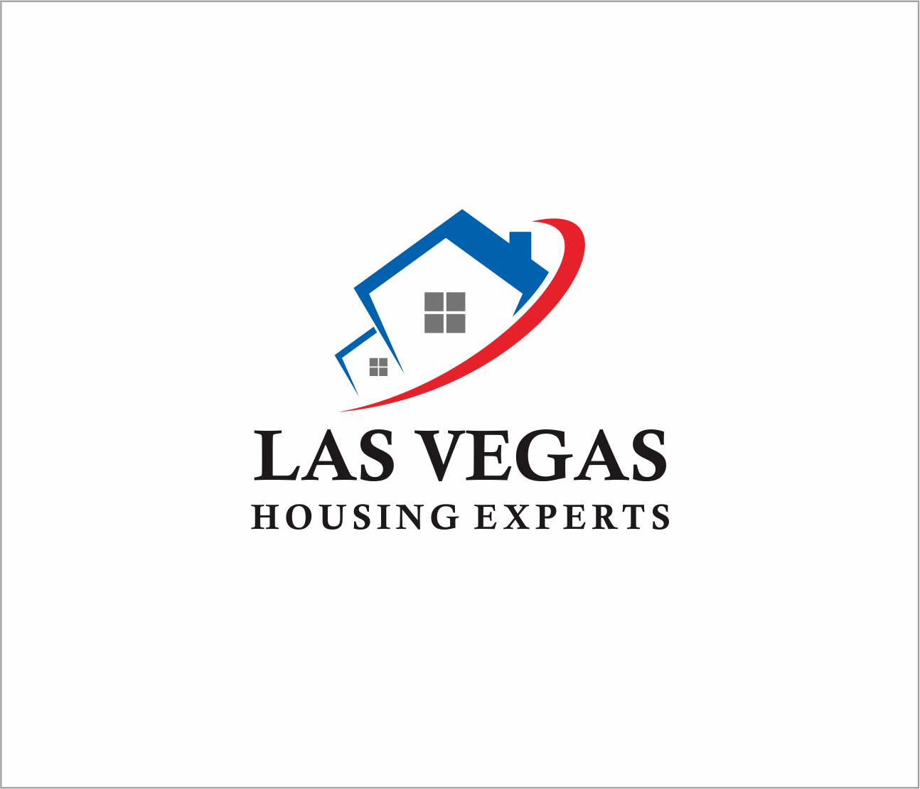 Logo Design by Armada Jamaluddin - Entry No. 121 in the Logo Design Contest Las Vegas Housing Experts Logo Design.