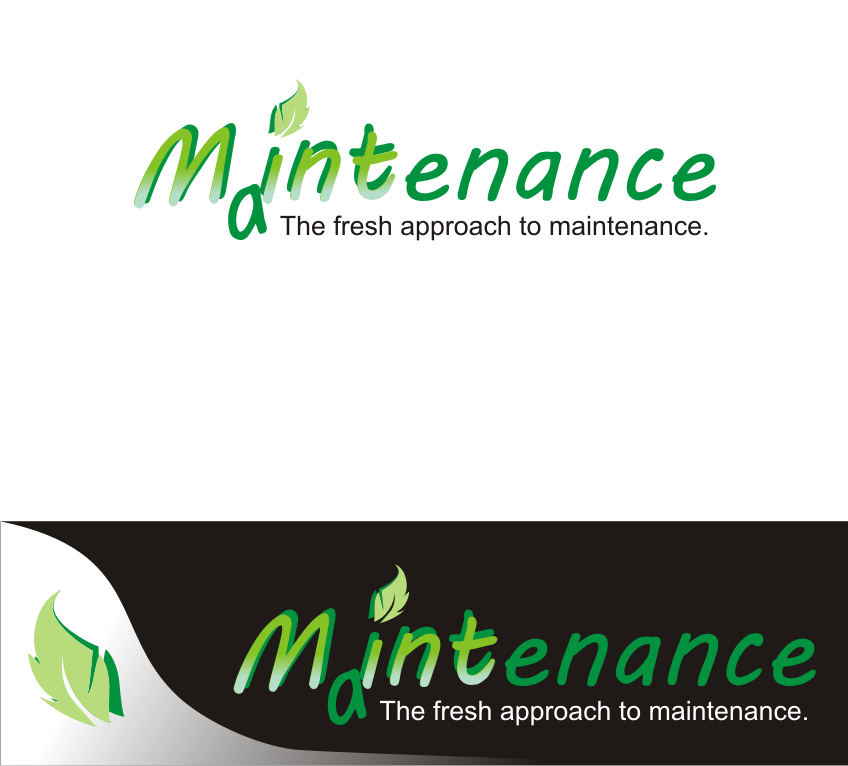 Logo Design by Nthus Nthis - Entry No. 7 in the Logo Design Contest Creative Logo Design for Mint Maintenance.